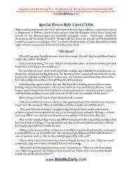 CVSA Stories 12-6-10 - Bob McCarty Writes