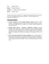 Cabrera Report (pdf) - Bob McCarty Writes