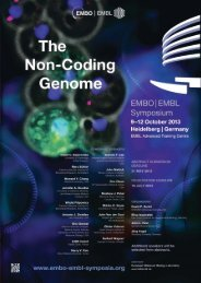 Download the sponsorship brochure for the EMBO|EMBL Symposium