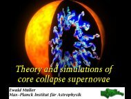 Physics and simulations of core collapse supernovae - LUTh