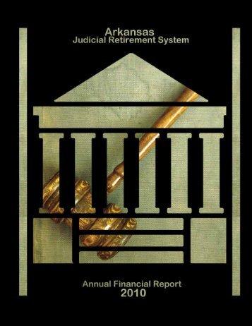 AJRS 2010 Financial Report - Arkansas Public Employees ...