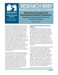 High School Coursework and Postsecondary Education Trajectories:
