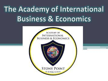 Academy of International Business and Economics