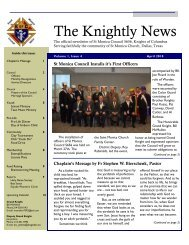 The Knightly News, April 2010