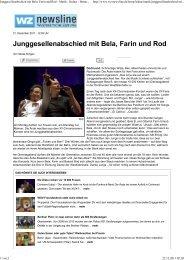 Westdeutsche Zeitung - Das Die Ärzte Archiv