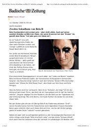 Zweites Soloalbum von Bela B - Das Die Ärzte Archiv
