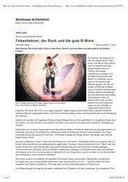 Hamburger Abendblatt - Das Die Ärzte Archiv