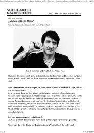Stuttgarter Nachrichten - Das Die Ärzte Archiv
