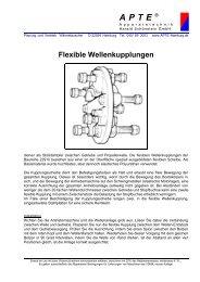 Flexible Wellenkupplungen - APTE Apparatetechnik Harald ...