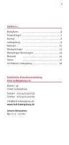 VorOrt - Katholische Erwachsenenbildung Kreis Ludwigsburg eV - Seite 3