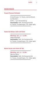 VorOrt - Katholische Erwachsenenbildung Kreis Ludwigsburg eV - Seite 7