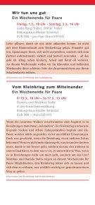 Paarkurse 2013 in - Katholische Erwachsenenbildung Kreis ... - Page 2
