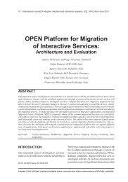 OPEN Platform for Migration of Interactive Services: