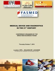 Medical Device and Diagnostic in the 21st Century - June 24 ... - EPFL
