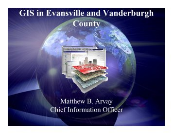 GIS in Evansville and Vanderburgh County - Evansville Courier ...