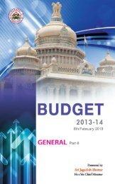 General Budget - Finance Department
