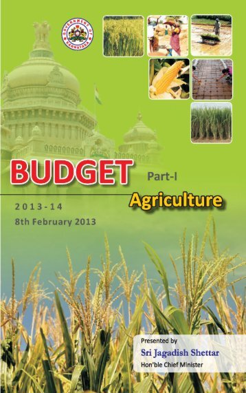 Agriculture Budget - Finance Department