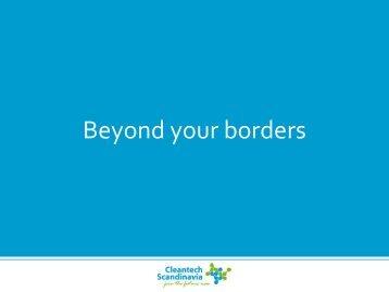 Beyond Your Borders