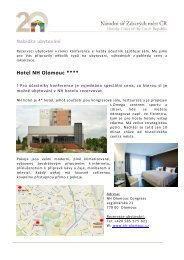 Hotel NH Olomouc ****