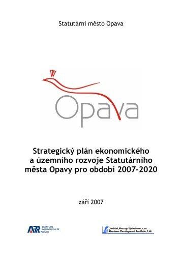 Strategický plán ekonomického a územního rozvoje ... - Opava