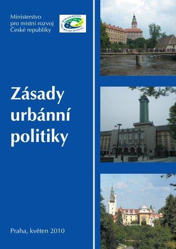 Zásady urbánní politiky [PDF, 2.58MB] - Ministerstvo pro místní rozvoj
