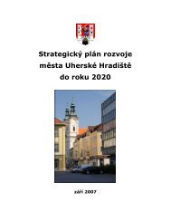 Strategický plán rozvoje města Uherské Hradiště do roku 2020