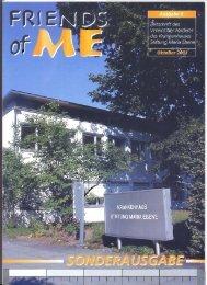 5. Ausgabe - Oktober 2001 - Stiftung Maria Ebene