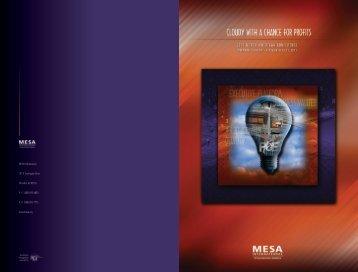 +1 (480) - MESA's North American Conference - MESA International