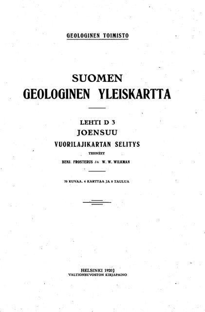 SUOMEN - arkisto.gsf.fi
