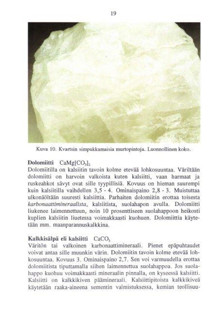 MALMINETSIJAN KIVIOPAS - arkisto.gsf.fi - Geologian tutkimuskeskus