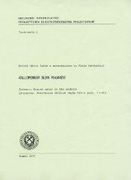 RAKENNUSGEOLOGINEN YHDISTYS-BYGGNADSGEOLOGISKA F ...
