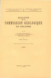 commission geologique de finlande - arkisto.gsf.fi