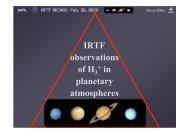 H 3 + in planetary atmospheres