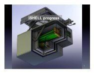 iSHELL progress