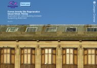 Former Arnotts Site Regeneration Gauze Street, Paisley Application ...