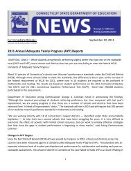 2011 Annual Adequate Yearly Progress (AYP) Reports