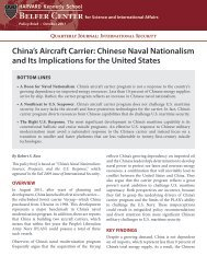 China's Aircraft Carrier: Chinese Naval Nationalism and Its ...