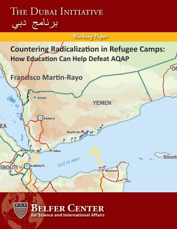 Countering Radicalization in Refugee Camps - Belfer Center for ...