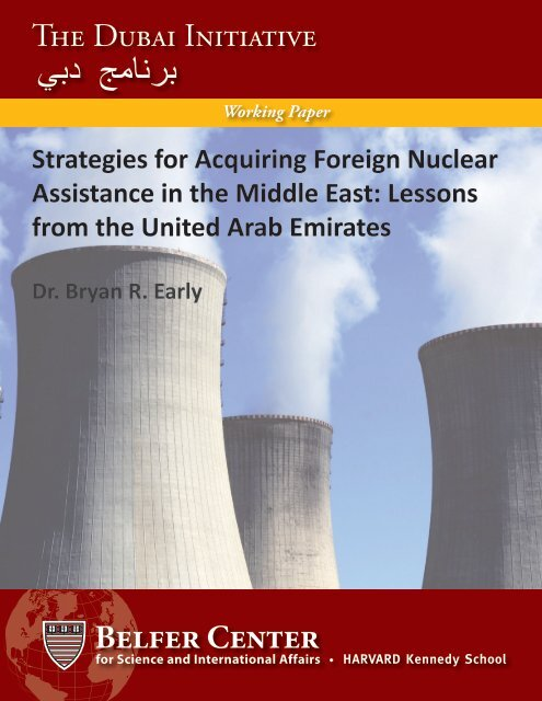 Early Working Paper - Belfer Center for Science and International ...