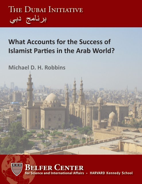 Robbins Working Paper - Belfer Center for Science and International ...