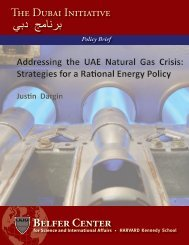ADDReSSIng THe UAe nATURAl gAS CRISIS - Belfer Center for ...