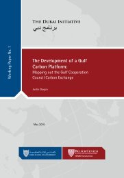 The Development of a Gulf Carbon Platform: - Belfer Center for ...