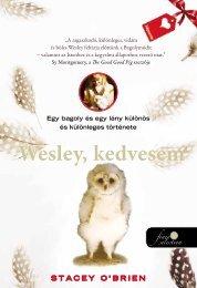 Wesley, kedvesem