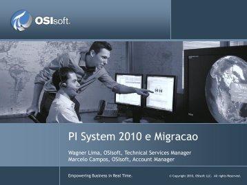PI System 2010 Presentation - OSIsoft