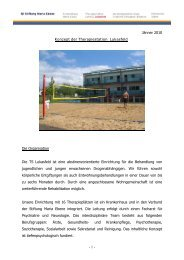 Das Konzept - Stiftung Maria Ebene