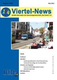 Viertel-News 01/12 - Das Viertel