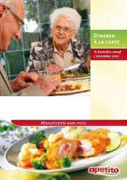 Dineren à la carte - Glazenap