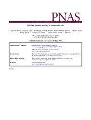 Profiling signaling polarity in chemotactic cells Yang, David G. Camp ...
