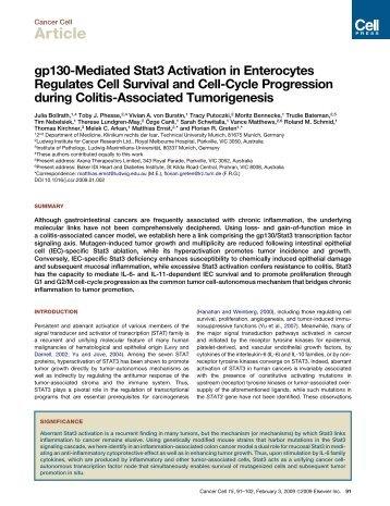 KarinBollrath et al.pdf - UCSD/Burnham Molecular Pathology