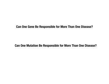 Lecture Slides - UCSD/Burnham Molecular Pathology